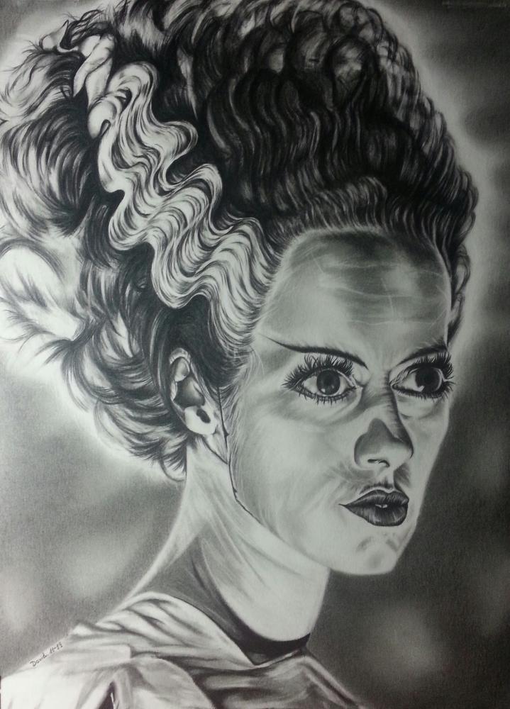 Elsa Lanchester by Callahan